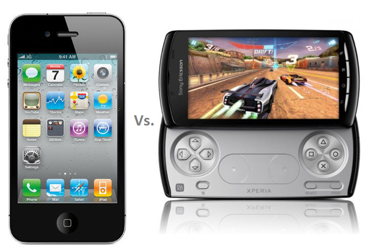 iPhone4 Vs Xperia Play