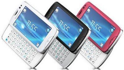 Sony Ericsson Txt Pro in India