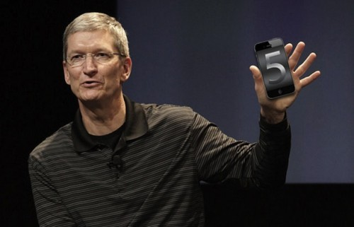 Apple iPhone 5 & Tim Cook