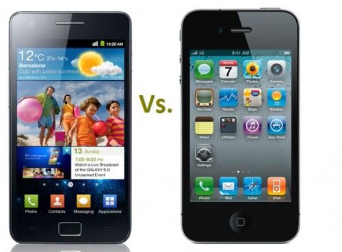 Samsung Galaxy SII Vs. Apple iPhone 4S
