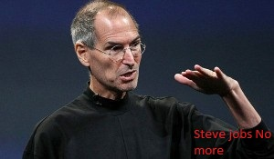 Steve jobs passes away
