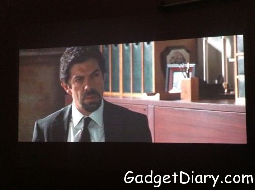 watching movie on dell m110