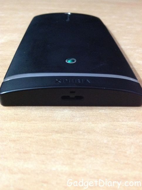 sony xperia s bottom