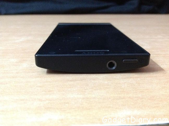 sony xperia s top