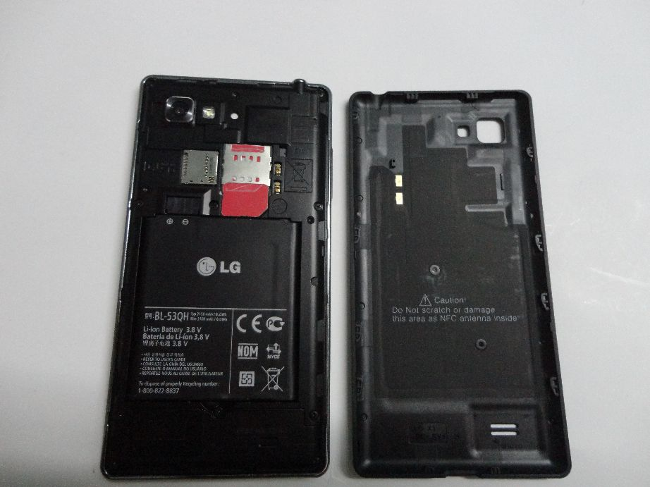 lg optimus 4x hd open