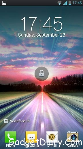 optimus 4x hd lock screen