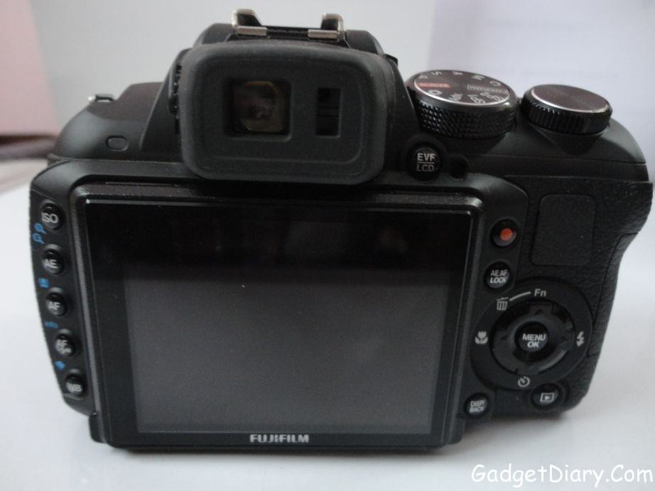 Fujifilm FinePix HS25EXR buttons