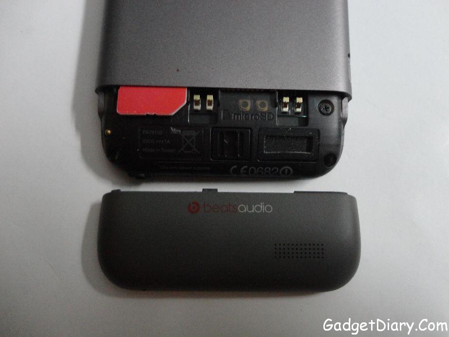 HTC One V microsd and sim slot