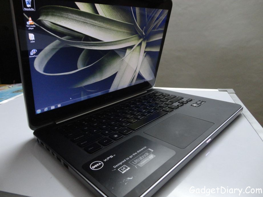 dell xps 14 ultrabook front
