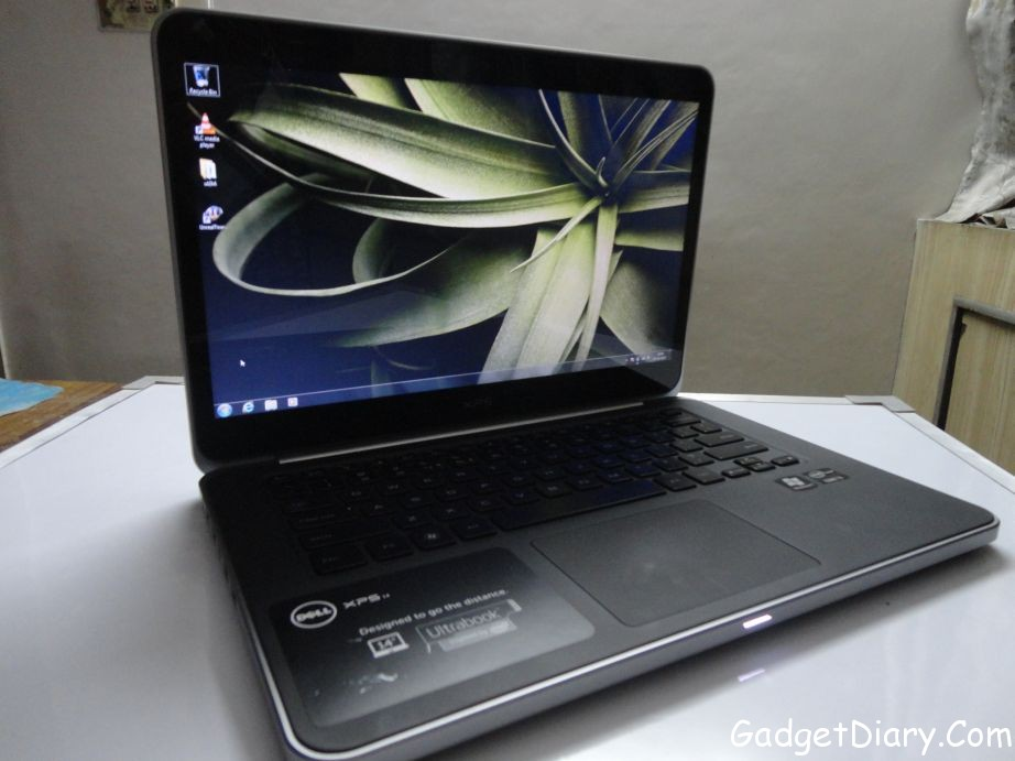 dell xps 14 ultrabook full view