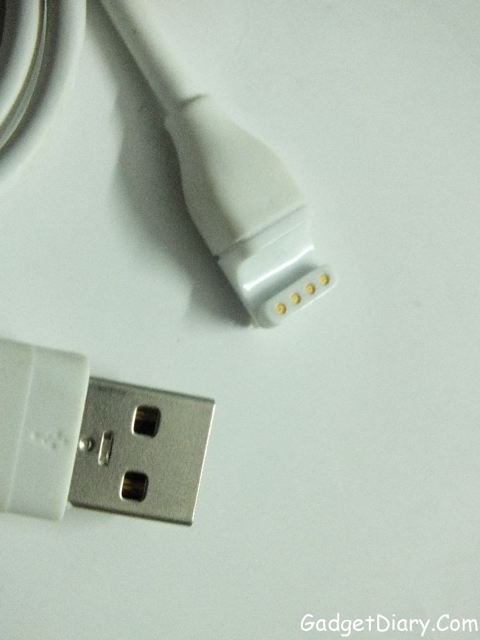 sony smartwatch charging cable
