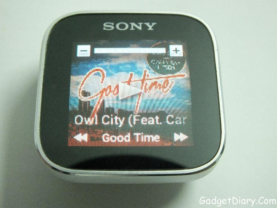 sony smartwatch music