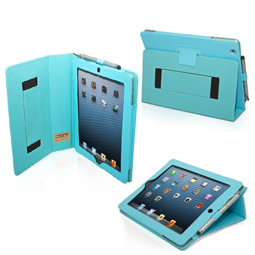 Snugg iPad 4 Case Cover and Flip Stand