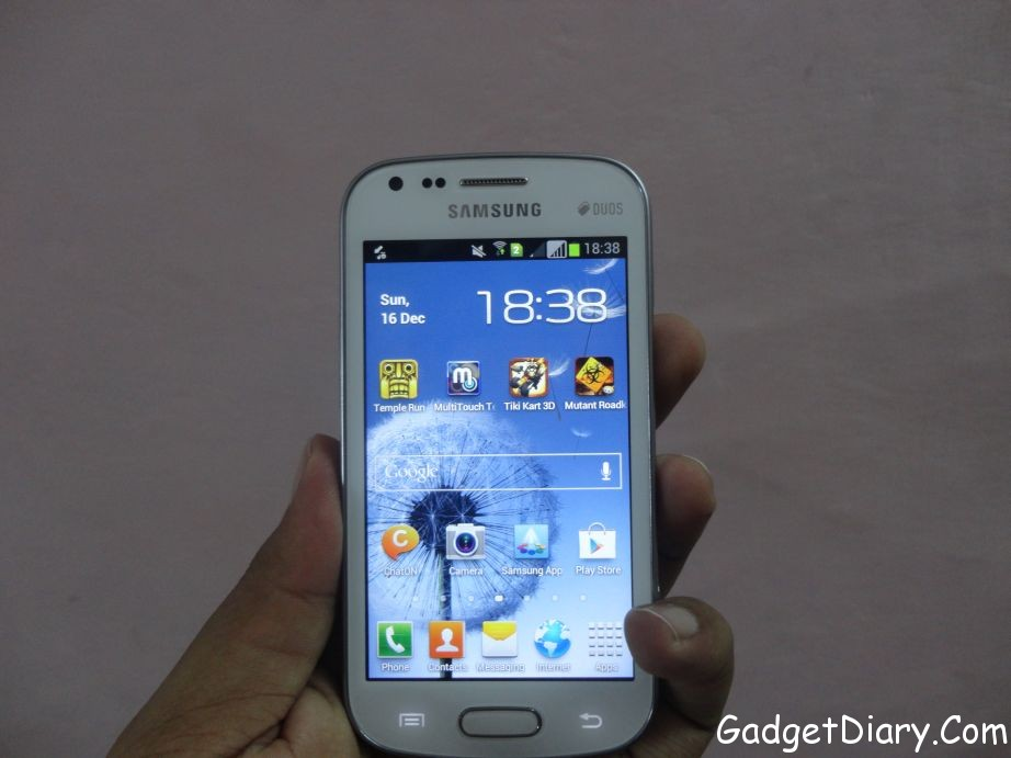 Samsung Galaxy S Duos front