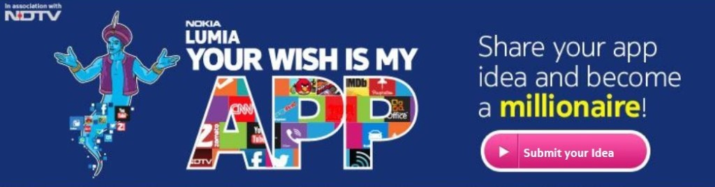 nokia lumia wish my app
