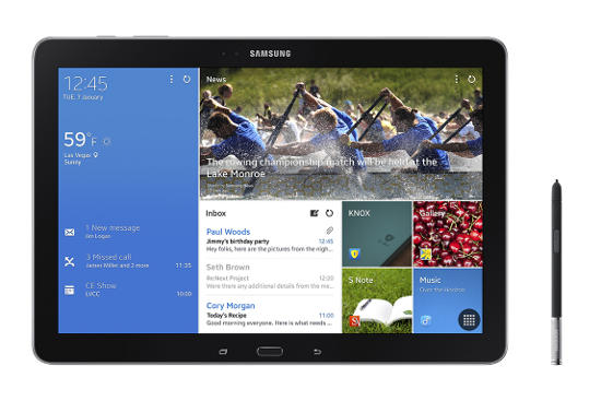 Samsung Galaxy NotePRO and TabPRO Announced at CES 2014