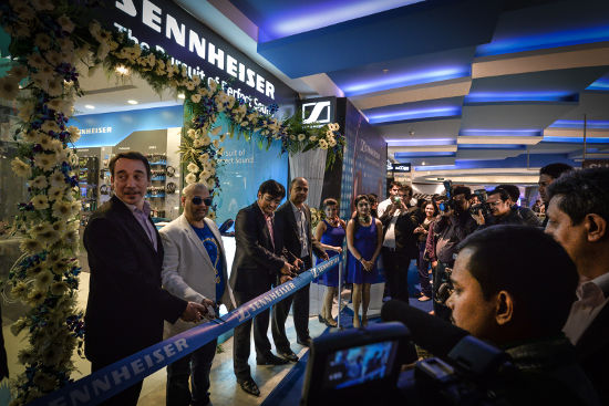 Sennheiser Launches it's First Exclusive Store in India
