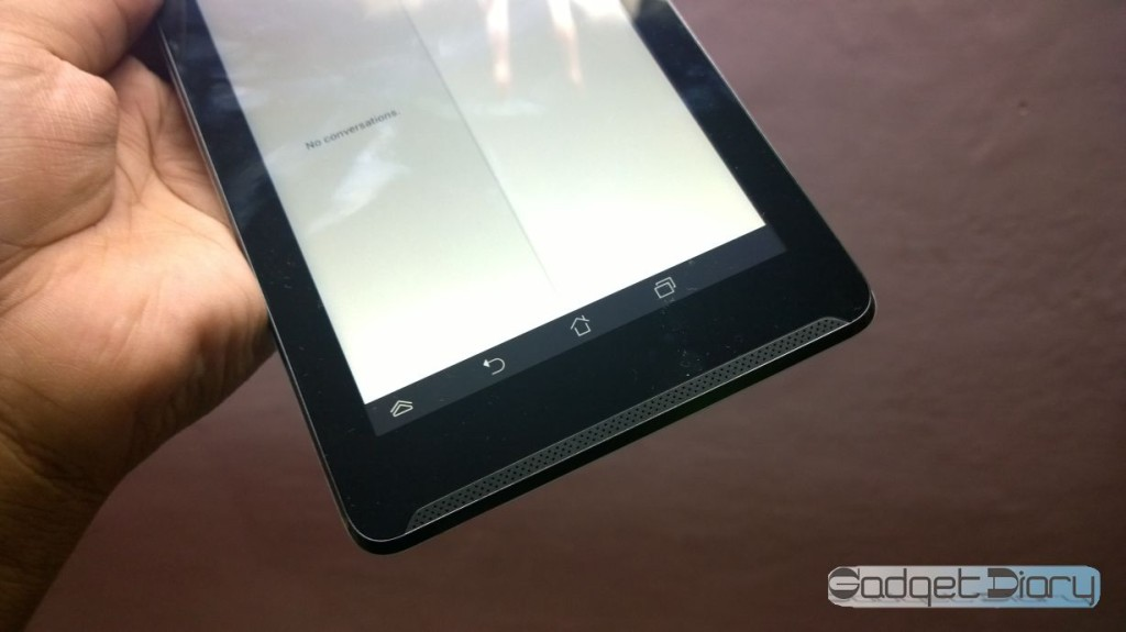 asus fone pad 7 below display