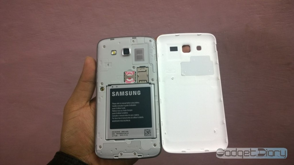 samsung galaxy grand 2 above display