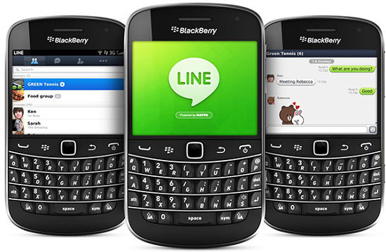 line-blackberry